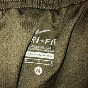 Nike shorts - look new; no signs of wear